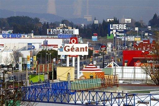 Menace sur les commerces du centre ville de bourges - Zone commerciale nancy ...
